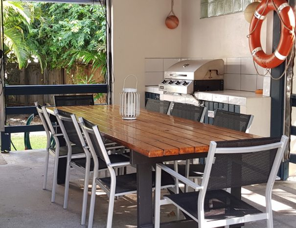 Undercovered Outdoor Dining with BBQ