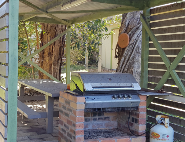BBQ + Undercovered Pergola Area